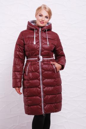 Куртка 9125. Цвет: бордовый