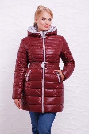 Куртка 9178. Цвет: бордовый