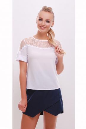 блуза Магдалена к/р. Цвет: белый