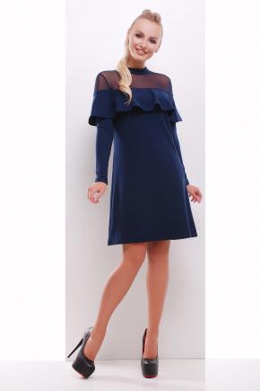 платье Санина д/р. Цвет: темно синий