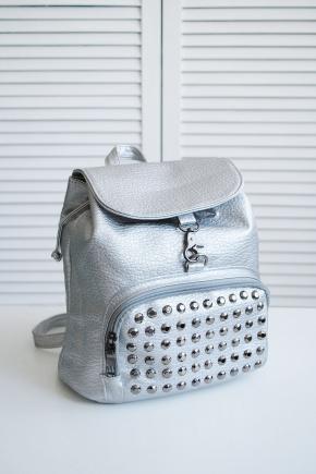 Рюкзак 020. Цвет: серебро