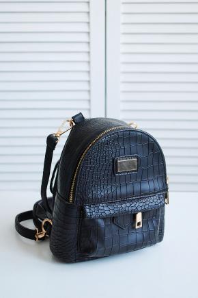 Рюкзак 8702. Цвет: черный