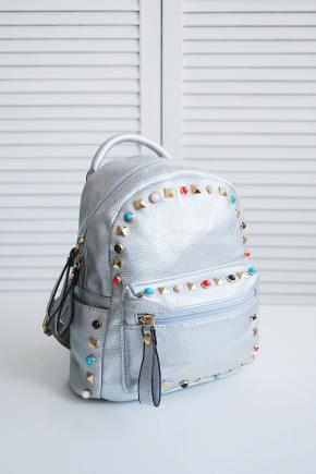 Рюкзак 9380. Цвет: серебро