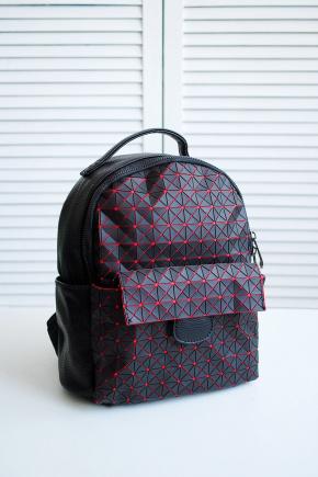 Рюкзак 666. Цвет: черный-красный