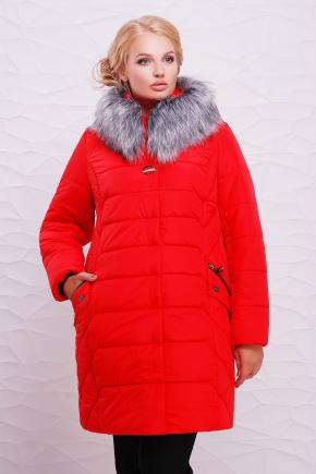 Куртка Алиса. Цвет: красный