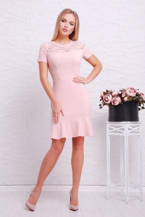 платье Иоланта к/р. Цвет: персик