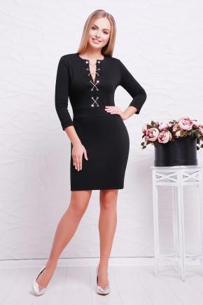 платье Доната д/р. Цвет: черный