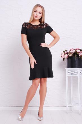 платье Иоланта к/р. Цвет: черный