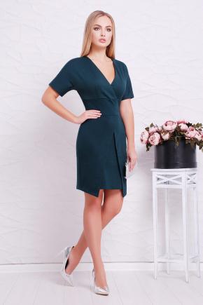 платье Аурика к/р. Цвет: изумрудный