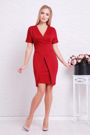 платье Аурика к/р. Цвет: бордовый