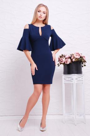 платье Марион к/р. Цвет: темно синий