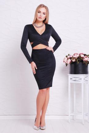 платье Эмилия д/р. Цвет: черный