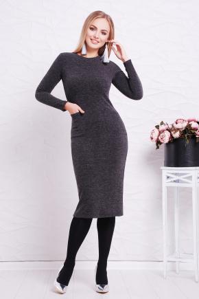 платье Габриела д/р. Цвет: черный