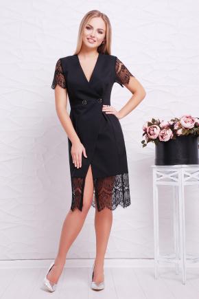 платье-жилет Альма к/р. Цвет: черный