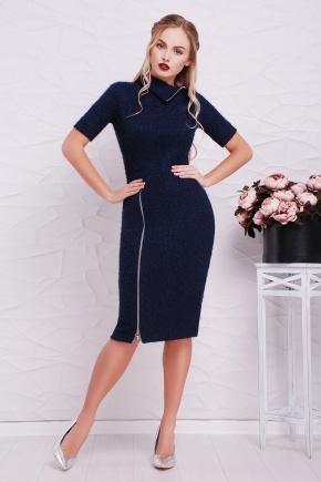 платье Зафира к/р. Цвет: темно синий