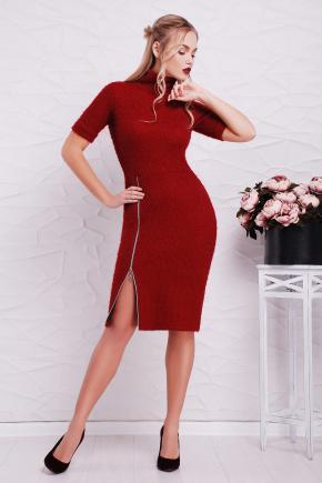 платье Зафира к/р. Цвет: бордовый