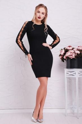 платье Влада д/р. Цвет: черный