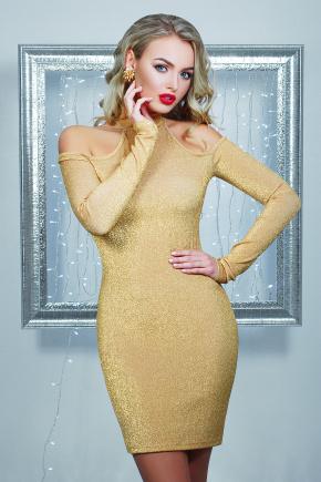 платье Веленара д/р. Цвет: золото