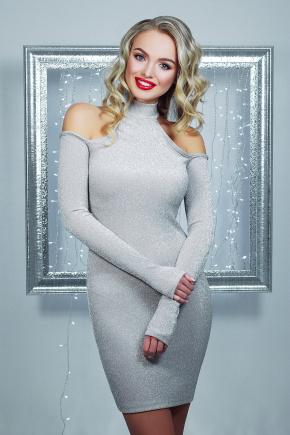 платье Веленара д/р. Цвет: серебро