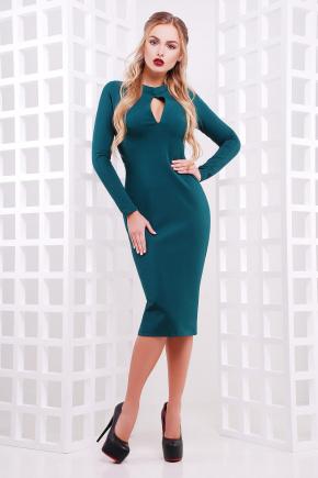платье Цезара д/р. Цвет: зеленый