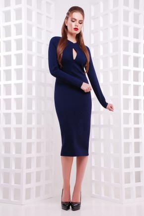 платье Цезара д/р. Цвет: синий