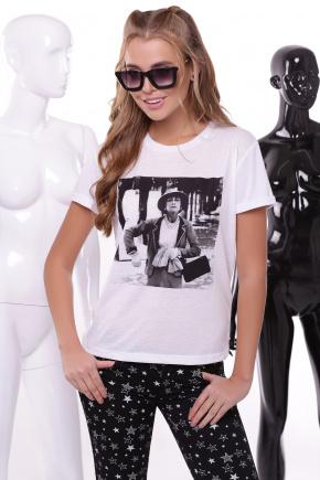 Шанель футболка Boy-2. Цвет: принт