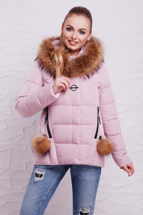 Куртка 17-128. Цвет: пудра