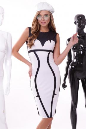 Luxury платье Лия-2 б/р. Цвет: принт