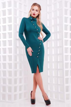 платье Радана д/р. Цвет: изумрудный