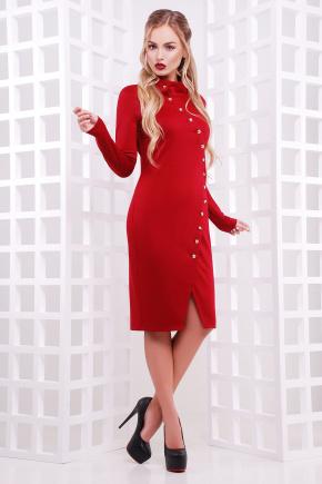 платье Радана д/р. Цвет: бордовый