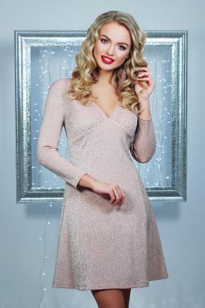 платье Азорина д/р. Цвет: персиковый