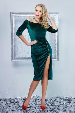 платье Анатэль д/р. Цвет: изумрудный