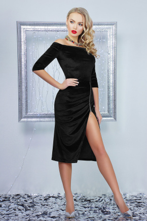 платье Анатэль д/р. Цвет: черный