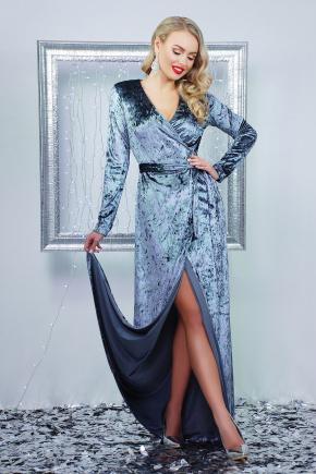 платье Нателла д/р. Цвет: серый