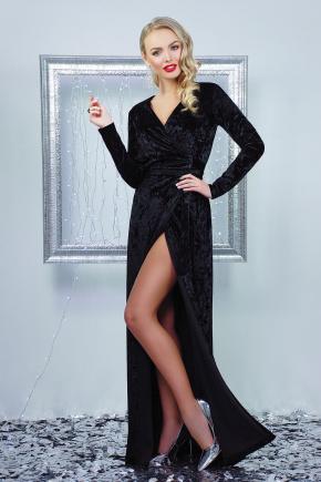 платье Нателла д/р. Цвет: черный
