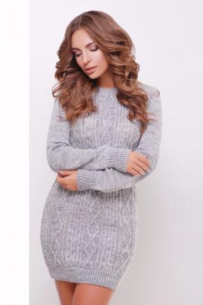 Платье-туника 143. Цвет: темно-серый