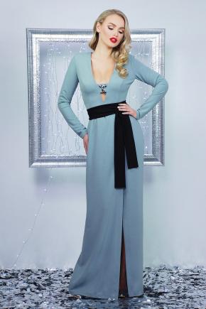 платье Элиска д/р. Цвет: светло серый