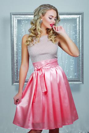 платье Лонелла б/р. Цвет: персиковый