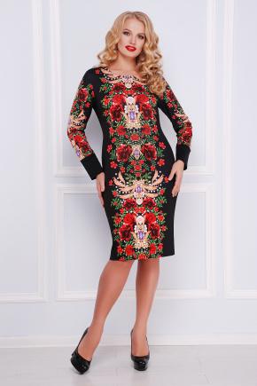 Jewelry rose платье Алика-Б д/р. Цвет: принт
