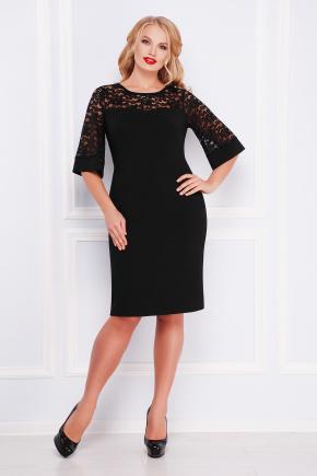платье Мирина-Б к/р. Цвет: черный