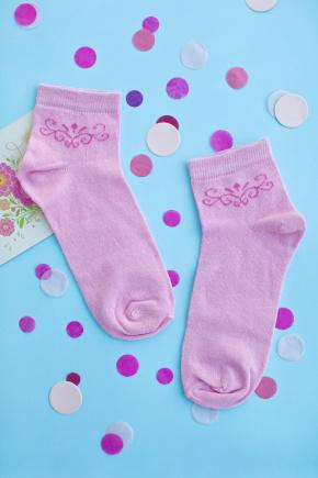 Носки 1010. Цвет: розовый