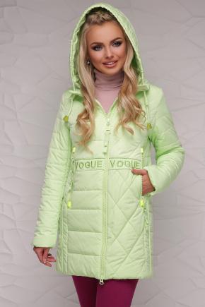 Куртка 17-757. Цвет: салатовый