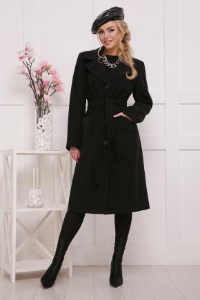 пальто П-23. Цвет: черный
