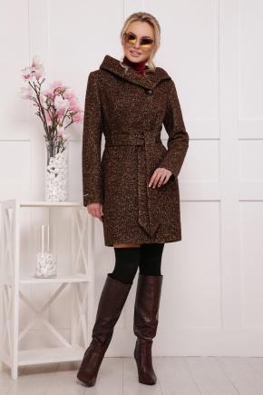 пальто П-311. Цвет: 1224-коричневый