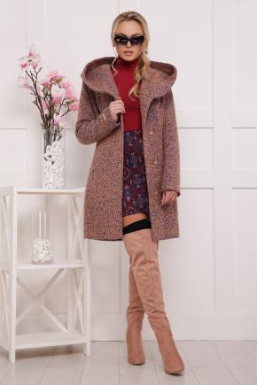 пальто П-311. Цвет: 1208-розовый