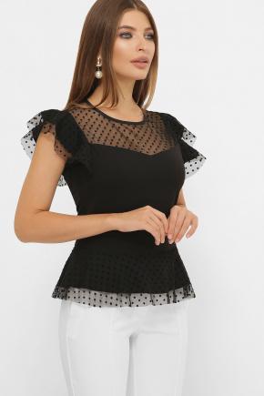 блуза Лайза б/р. Цвет: черный