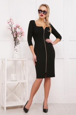 платье Дафни д/р. Цвет: черный