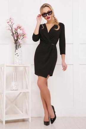 платье Летиция д/р. Цвет: черный