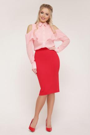блуза Джанина д/р. Цвет: персик