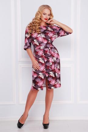 Аисты платье Руслана-Б КД к/р. Цвет: бордовый
